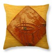 Stern - Tile Throw Pillow