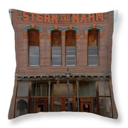Stern And Nahm 1879 Throw Pillow