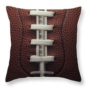 Steroid Use In Football Throw Pillow