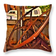 Sterring Towards Classic Throw Pillow