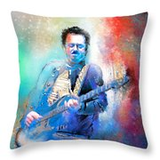 Steve Lukather 01 Throw Pillow