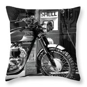 Steve Mcqueen Isdt 64 Throw Pillow