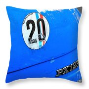 Steve Mcqueen Throw Pillow