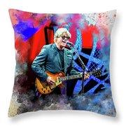 Steve Miller Throw Pillow