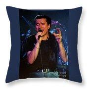 Steve Perry-95-0026 Throw Pillow