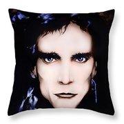 Steve Vai Throw Pillow