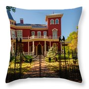 Steven King Home Bangor Maine 1 Throw Pillow