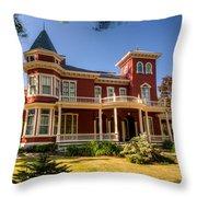 Steven King Home Bangor Maine 2 Throw Pillow