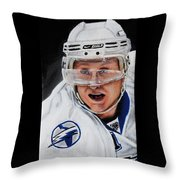 Steven Stamkos Throw Pillow by Marlon Huynh