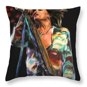 Steven Tyler 01 Throw Pillow