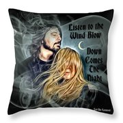 Stevie Nicks - Dave Grohl Throw Pillow