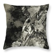 Stevie Ray Vaughan - 15 Throw Pillow