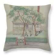 Stewart House Throw Pillow