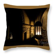 Stewert Lights Throw Pillow