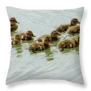 Stick Together Guys Throw Pillow