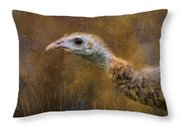 Stick Your Neck Out Throw Pillow