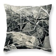 Sticks And Stones 2782 Throw Pillow