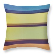 Sticky Stripes Throw Pillow