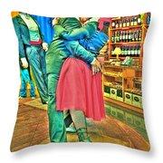 Stiff Tango Throw Pillow
