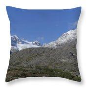 Stikine Mountains 2 Throw Pillow