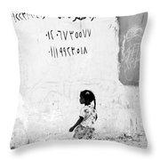 Still A While Throw Pillow