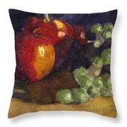 Still Apples Throw Pillow