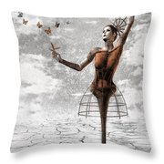 Still Believe Throw Pillow