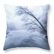 Still Holding On Throw Pillow