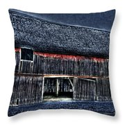 Still In The Sticks Hdr  Throw Pillow