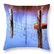 Still In Time Throw Pillow