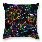 Still Life D Throw Pillow