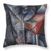 Still Life  Glass And Siphon Throw Pillow