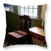 Still Life, Stevens House Throw Pillow