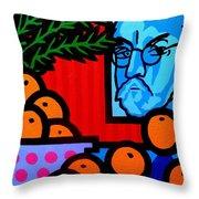 Still Life With Henri Matisse Throw Pillow