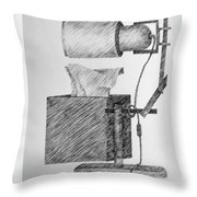 Still Life With Lamp And Tissues Throw Pillow