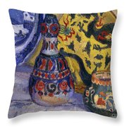 Still Life With Oriental Figures, 1913  Throw Pillow