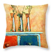 Still Life With Poppies Throw Pillow