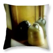 Still Life With Stoneware Throw Pillow