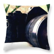 Still Life With Texture Throw Pillow