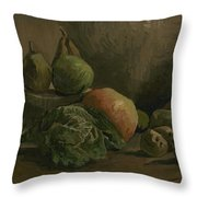 Still Life With Vegetables And Fruit Nuenen, Autumn 1884 Vincent Van Gogh 1853  1890 Throw Pillow