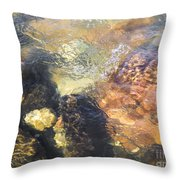 Still Moving Throw Pillow