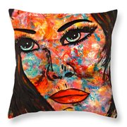 Still Searching Throw Pillow