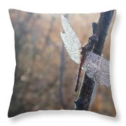 Still Snoozing Throw Pillow