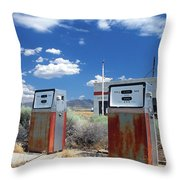 Still Standing Throw Pillow by Kathy Yates