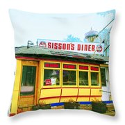 Still There Throw Pillow