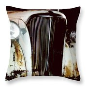Still Truckin Throw Pillow