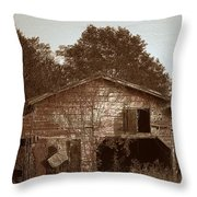 Still Working Throw Pillow