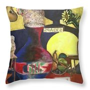 Stillife Throw Pillow