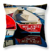 Stillness In The Bay Throw Pillow