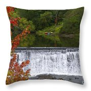 Stillness Of Beauty Throw Pillow